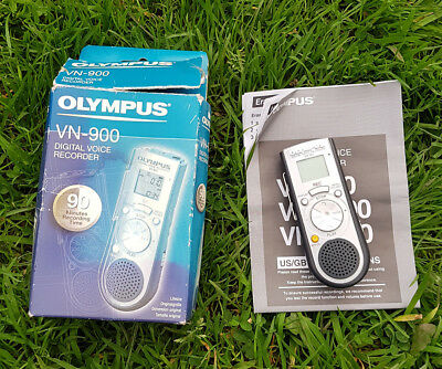 Olympus digital voice recorder VN-900 In Box with manual