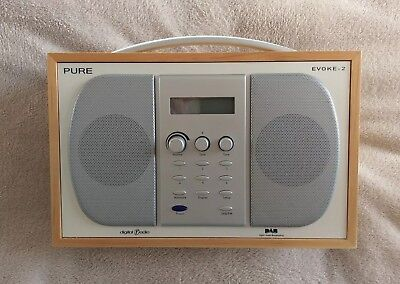 Pure Evoke-2 DAB, AM/FM Stereo Radio