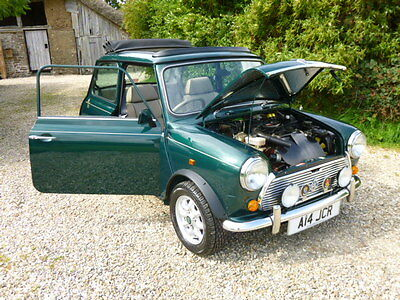 Classic Mini Rover British Open Classic On Just 8700 Miles From New