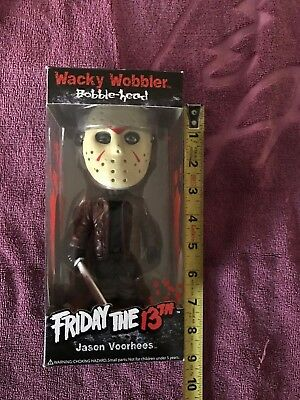 Jason Voorhees Friday The 13th Whacky Wobbler Bobble-Head