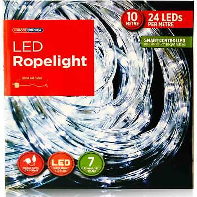 LED Rope Lights 10m Multi Function Decorations Outdoor & Indoor