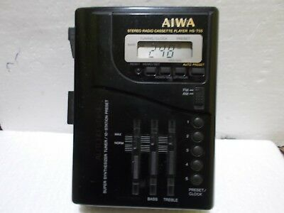 Aiwa Hs - T55  Radio Cassette Player
