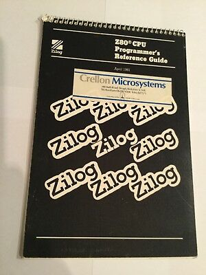Zilog Z80 CPU Programmer's Reference Guide April 1981