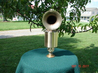 Steam Siren Warning Whistle for Launch ,Traction Engine  , Stationary Boiler