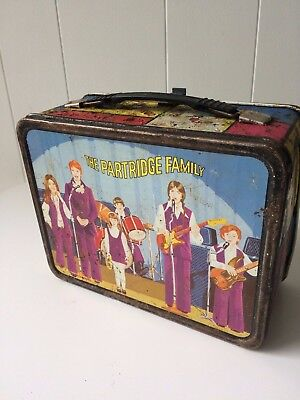 Vintage The Partridge Family Metal Lunch Box with Thermos David Cassidy 1973