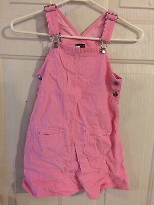 Little Girls Tommy Hilfiger Pink Corduroy Fall Romper Size 6