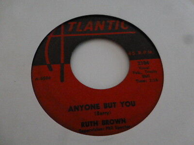 Ruth Brown  It Tears Me All To Pieces - Atlantic 2104 - Phil Spector   Very Nice