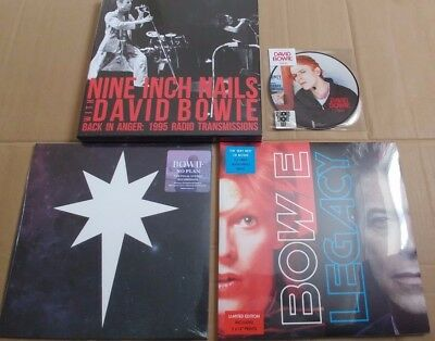 David Bowie record vinyl collection