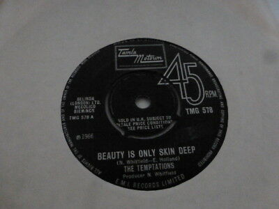 The Temptations Beauty Is Only Skin Deep/ You're Not An Ordinary Girl Uk Tmg