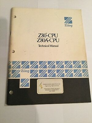 Zilog Z80-CPU, Z80A-CPU Technical Manual, 1977