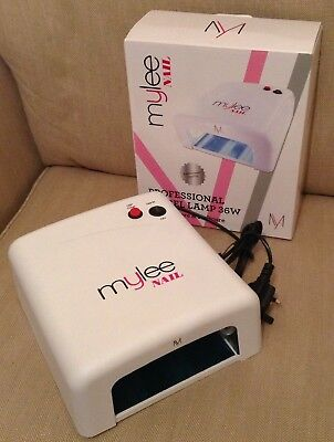 MYLEE Nail Professional UV GEL Lamp 36W Polish Curing Nail Art Dryer VGC