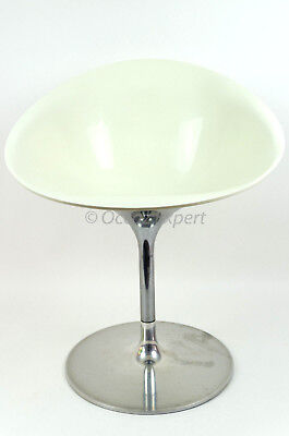 Fauteuil Pivotant1 Kartell Ero/s/ By Philippe Starck Blanc White Chair (500,00€)