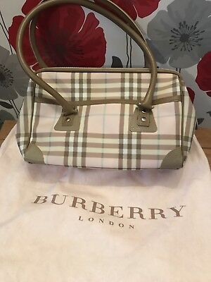 Ladies Pink Designer Burberry Handbag