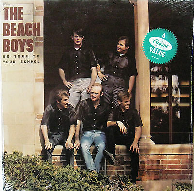 "Beach Boys ""Be True To Your School"" - Sealed 1982 1st Press US Capitol Mono LP!"