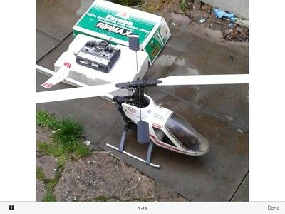 rc helicopter nitro kyosho concept 30