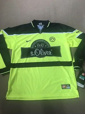 Bvb Dortmund 1997 Special Commemorative Shirt - Very Rare