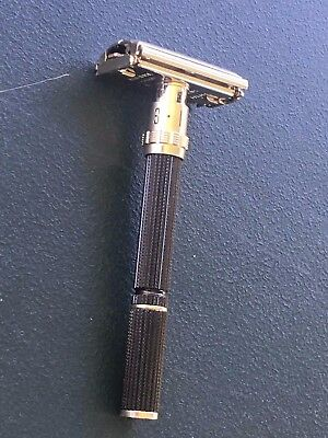 Gillette TTO DE Super Adjustable Safety Razor, Long Handle~W1 Date Code