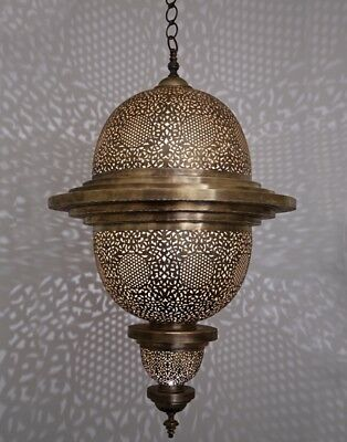 ASNI Hanging Pendant Lamp Ceiling Light Antique Brass Antique Brass Moroccan