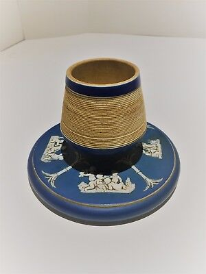 19thC Wedgwood Jasperware Match Holder/Striker