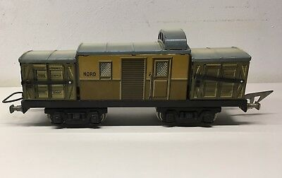 JEP - Waggon Baggage - Spur 0 - 1935 - Selten - EXCELLENT!