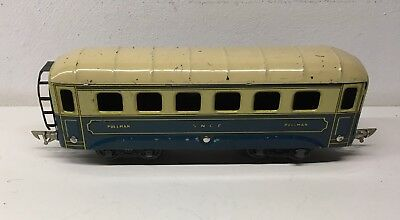 JEP - Waggon Pullman - Spur 0 - 1935 - Selten - EXCELLENT!