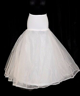 Wedding Bridal Hoop White Tulle A-Line NEW