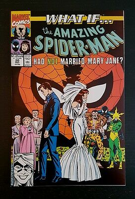 WHAT IF #20 (1989 MARVEL) *2nd SERIES* NM/NM+