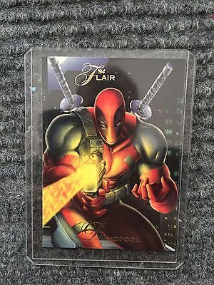 Deadpool - Rare 1994 Marvel Flair Trading Card - Mint Condition!