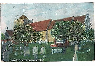 Postcard - St. Peter's Church, Bexhill-on-Sea