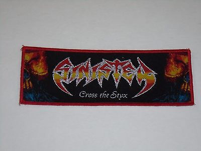 Sinister Cross The Styx Woven Patch
