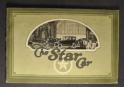 1923 Star Car Catalog Sales Brochure Excellent Original 23