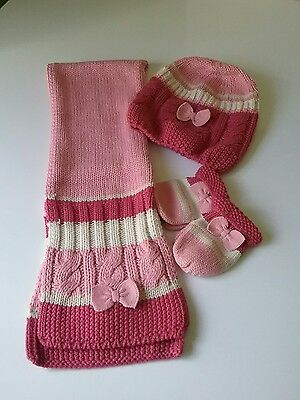 mayoral hat gloves and scarf set