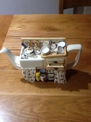 Paul Cardew Limited Edition Signed Sink large Teapot