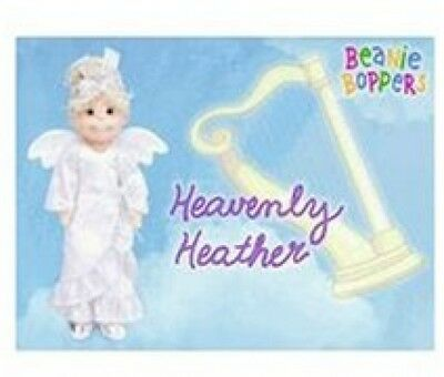Ty Beanie Bopper Heavenly Heather 00244 Retired