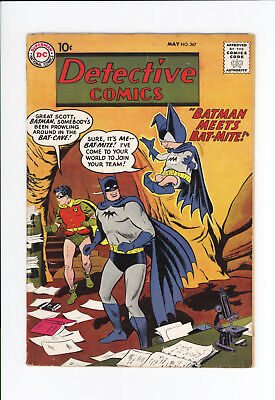DETECTIVE COMICS #267 - UNRESTORED NICE - 1st APPEARANCE OF BATMITE! 1959 SCARCE