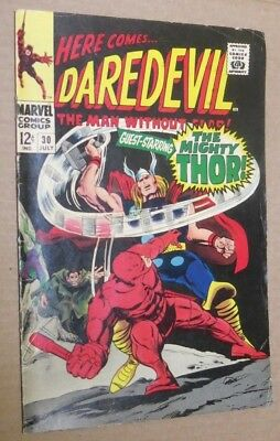 DAREDEVIL No #30 The Mighty Thor Gene Colan artwork