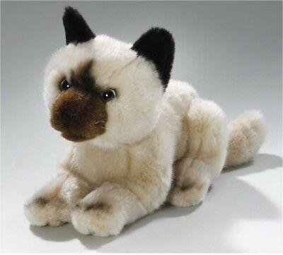 Soft Toy Cat creme, Siam 8'. [Toy]