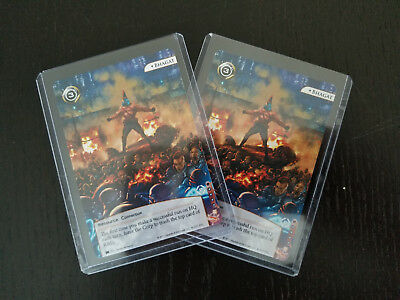 2 Netrunner LCG Gen Con 2017 Exclusives of Promotional Card Bhagat