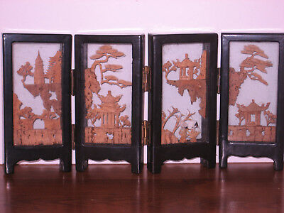 ****chinese Cork Carving****