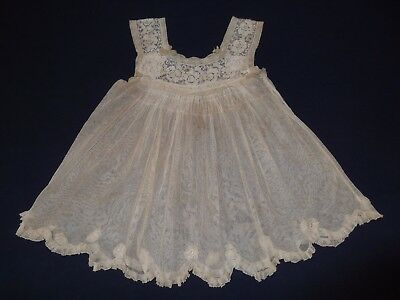 Antique Net and Lace Pinafore