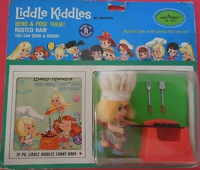 Nrfb Mattel Liddle Kiddles - #3513 - Sizzly Friddle - 1966 - Near Mint Condition