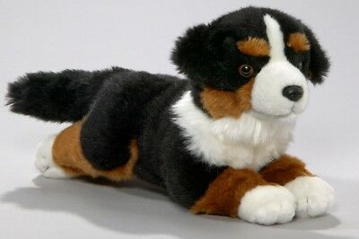 Soft Toy Bernese Mountain Dog Puppy 8'. [Toy]