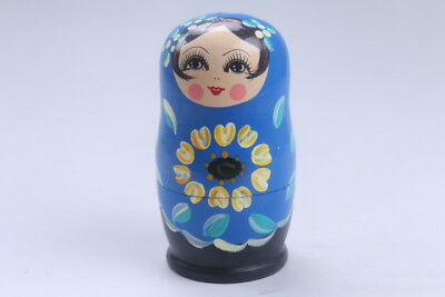 Nesting Doll Russian Doll Matryoshka Hand Painted Moscow Traditional bb564