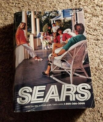Vtg SEARS CATALOG ~ SPRING / SUMMER 1991