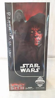 Star Wars Darth Maul Sith Lord Sideshow Collectibles *Exclusive Ltd Ed* *MISB*