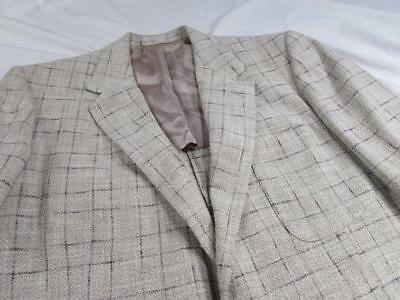 Vtg 50s Fleck Hollywood Blazer Sport Coat Jacket Swing VLV Elvis Atomic Flecked