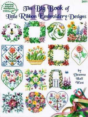The Big Book Of Little Ribbon Embroidery Designs @ 1998 - Free Shipping!!