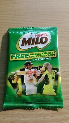 Nestle Milo ~ 2017 Aussie Cricket Collectors Cards ~ Unopened Pack ~ Free Post!