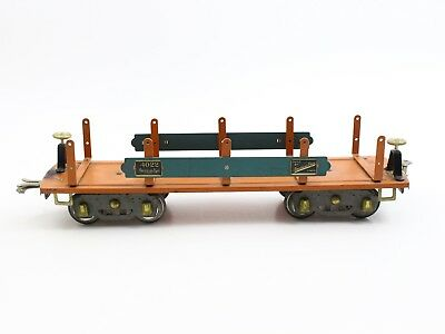 American Flyer Prewar Wide Standard Gauge 4022 Machinery Flat Car