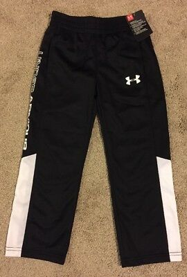 Under Armour Boys Polyester Athletic Pants Size 4 *NWT*